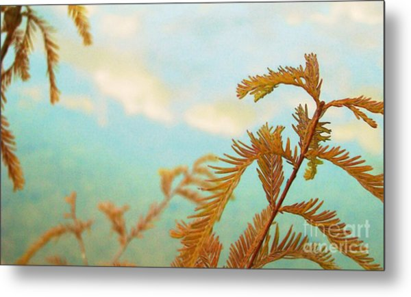 The Beauty Of Weeds Metal Print by Steven Lebron Langston