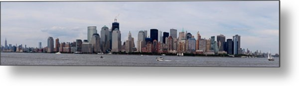 The Big Apple Metal Print by John Ungureanu