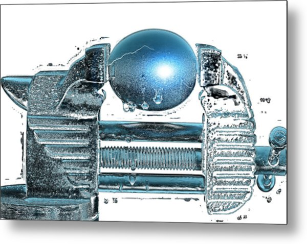 The Big Squeeze  Metal Print