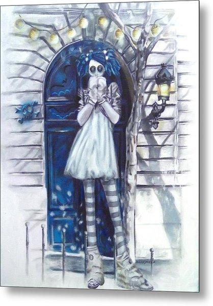 The Blue Door Metal Print by Lori Keilwitz