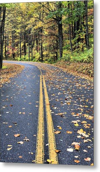 The Blue Ridge Parkway Metal Print by JC Findley
