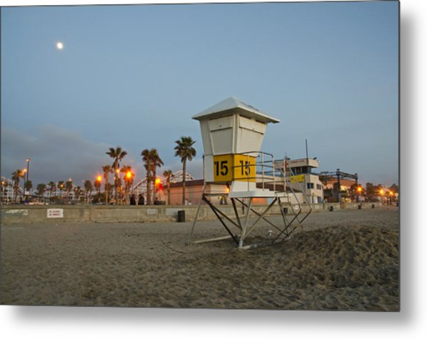 Metal Print featuring the photograph The Boardwalk by Margaret Pitcher