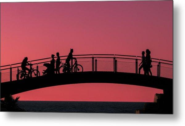The Bridge Metal Print by Amr Miqdadi