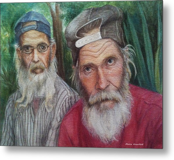 The Brothers Metal Print