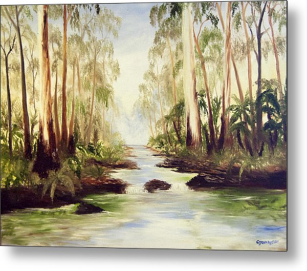 The Buckland River Metal Print