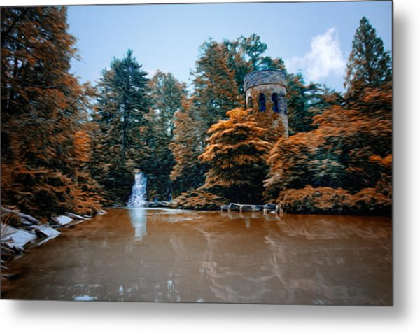 The Castle At Longwood Gardens Metal Print