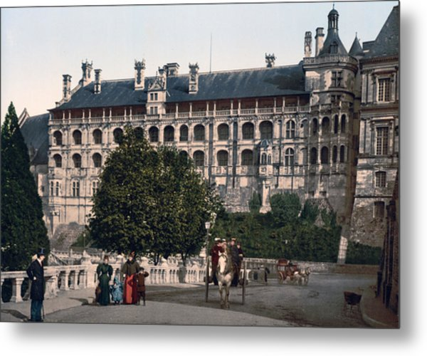 The Castle In Blois - France Metal Print by International  Images