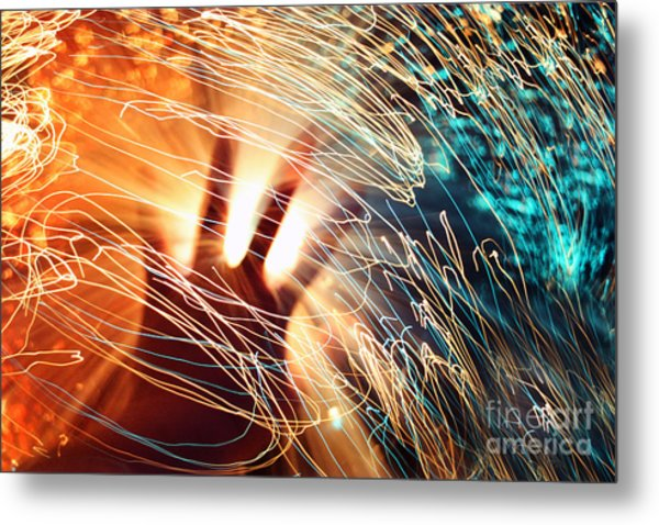 The Centre Of The Universe Metal Print by Catherine MacBride