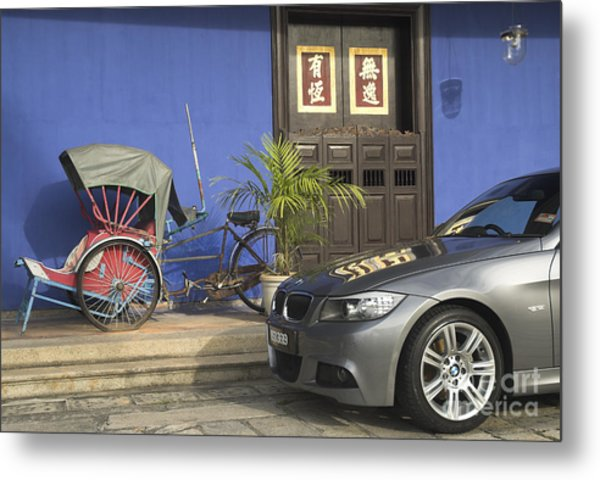 The Changing Face Of Asia Metal Print by Mark Azavedo