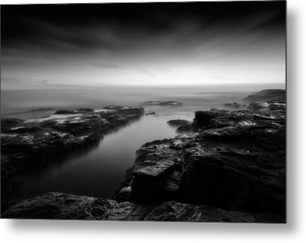 The Channel's Destiny Metal Print
