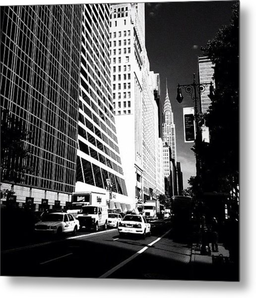 The Chrysler Building In New York City Metal Print