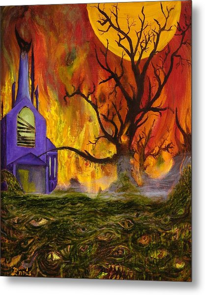 The Church Of Ruin Metal Print