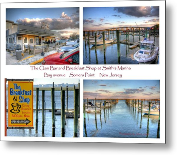 The Clam Bar And Breakfast Shop Metal Print