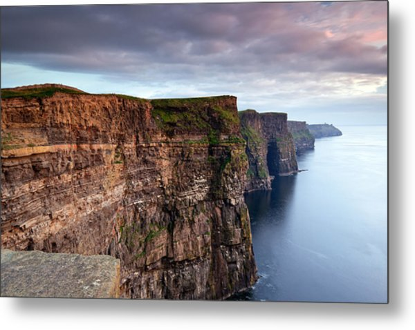 The Cliffs Of Moher Metal Print by Brendan O Neill