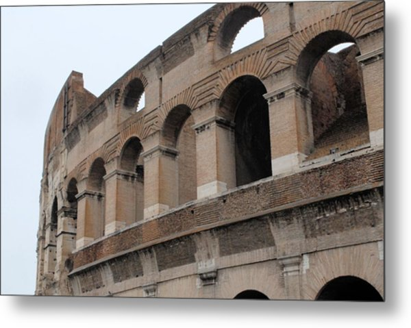 The Coliseum Metal Print by