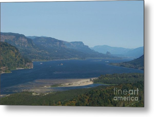 The Columbia River Gorge Metal Print