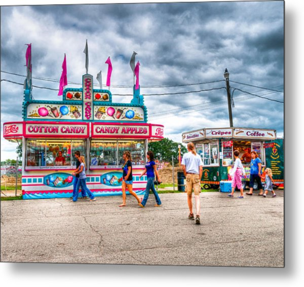 The County Fair Metal Print
