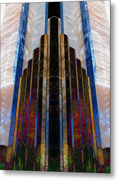The Cube Metal Print by Michele Caporaso