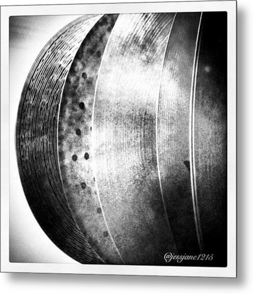 The Cymbal Tree Metal Print