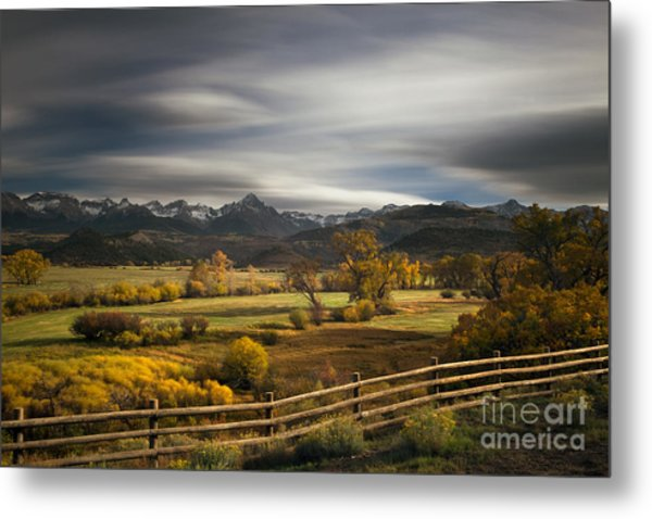 The Dallas Divide Metal Print