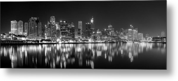 The Dark Side Of Town Metal Print