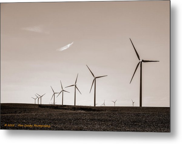 The Day After Metal Print by Dan Crosby