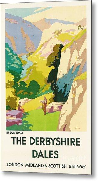 The Derbyshire Dales Metal Print