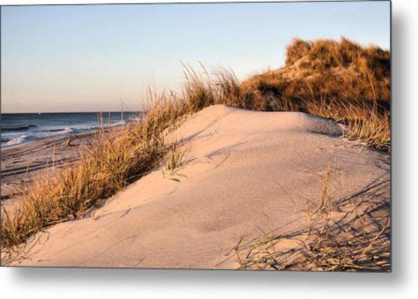 The Dunes Of Jones Beach Metal Print by JC Findley