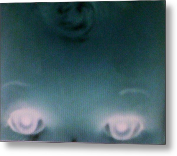 The Eyes Of A Mastermind Metal Print by Lee Thompson