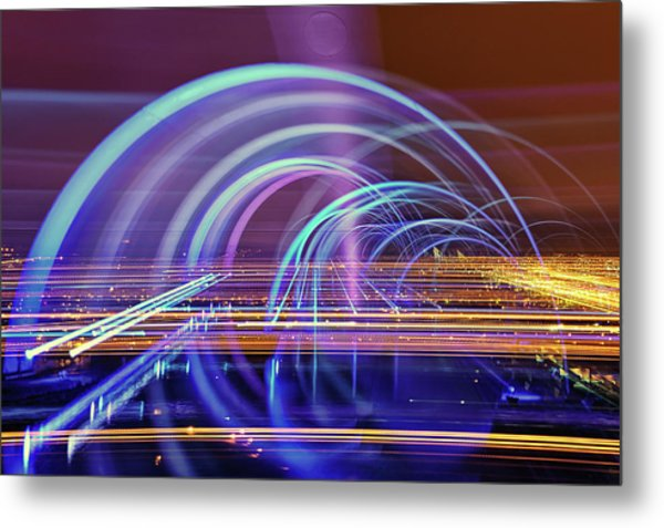 The Falkirk Wheel Metal Print by Anthony Brawley Photography