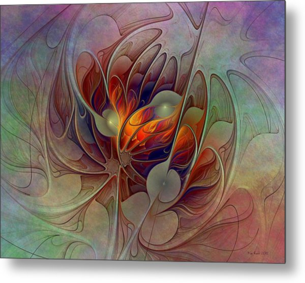 The Fire Inside Metal Print