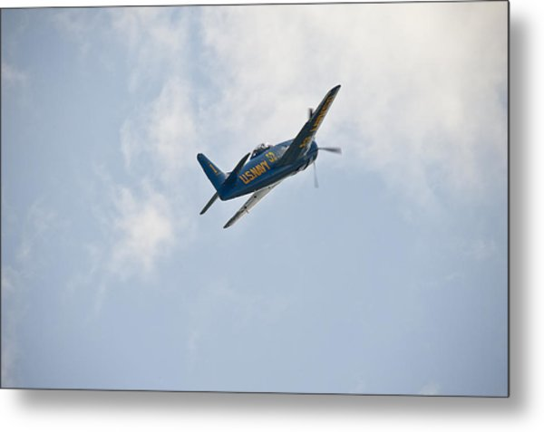 The First Blue Angel Metal Print