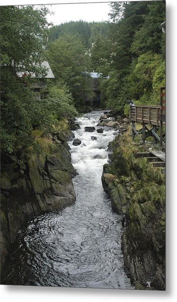 Metal Print featuring the photograph The Flow by Ralph Jones