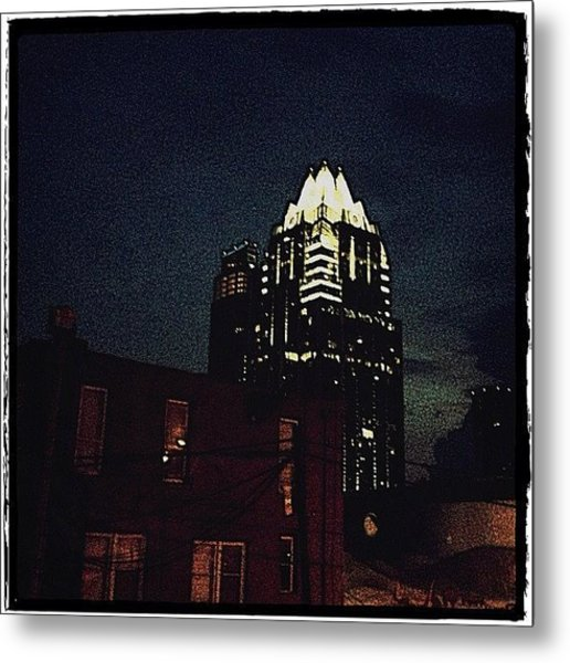 The Frost Bank Tower Metal Print
