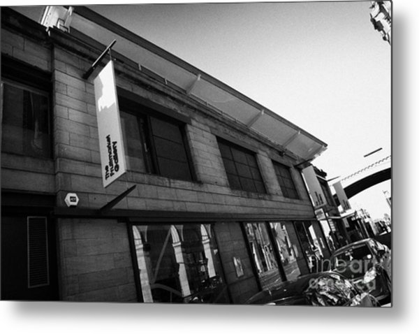 The Fruitmarket Gallery Edinburgh Scotland Uk United Kingdom Metal Print by Joe Fox
