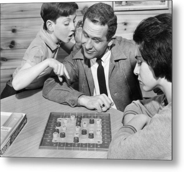 The Game Is Nirtz Metal Print by Archive Photos