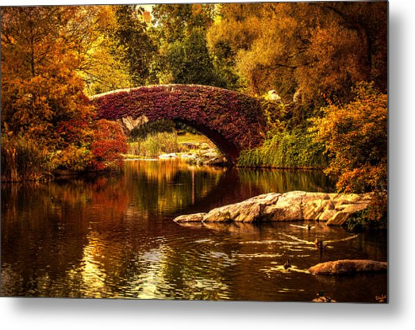 The Gapstow Bridge Metal Print