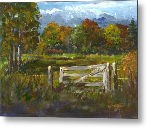 The Gate Of The Lord Metal Print