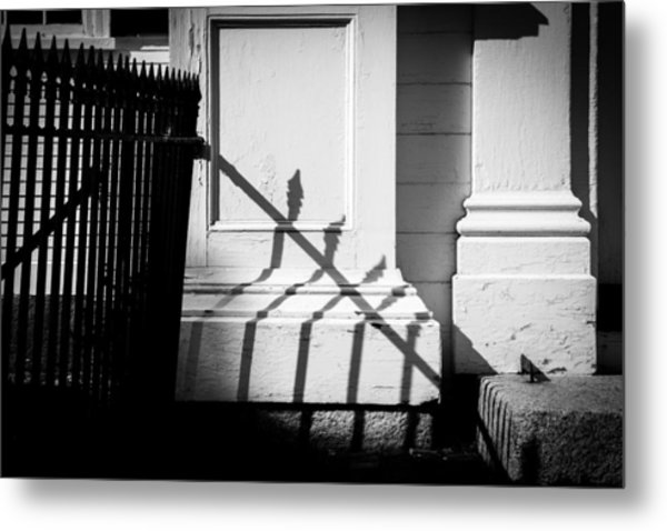 Iron Fence Metal Print