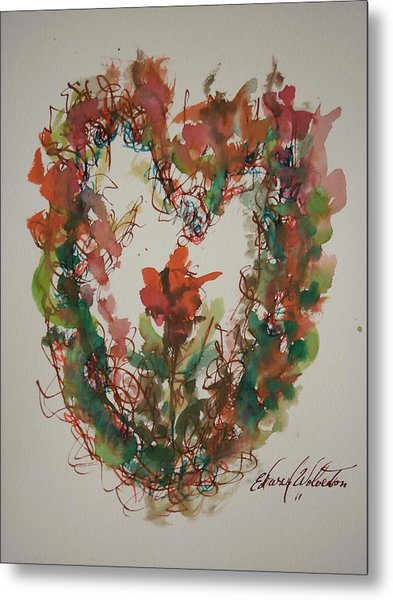 The Giving Of My Heart Metal Print by Edward Wolverton