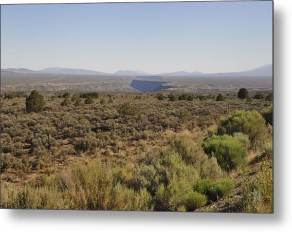 The Gorge On The Mesa Metal Print