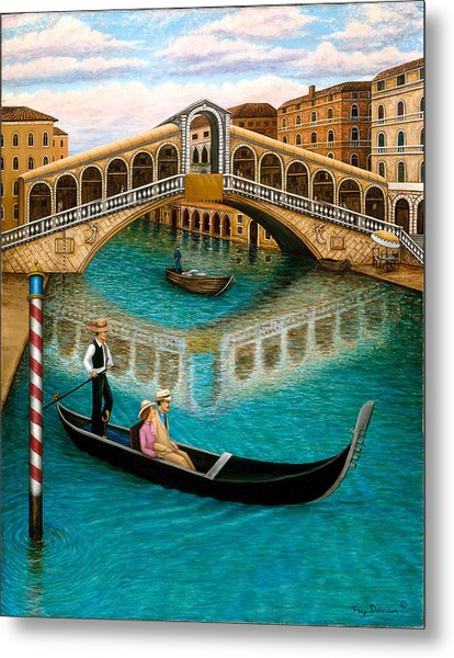 The Grand Canal Metal Print