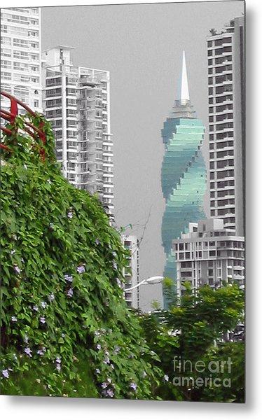 The Green Season In Panama Metal Print
