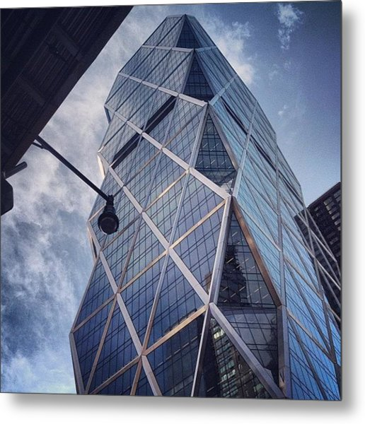 The Hearst Building Metal Print