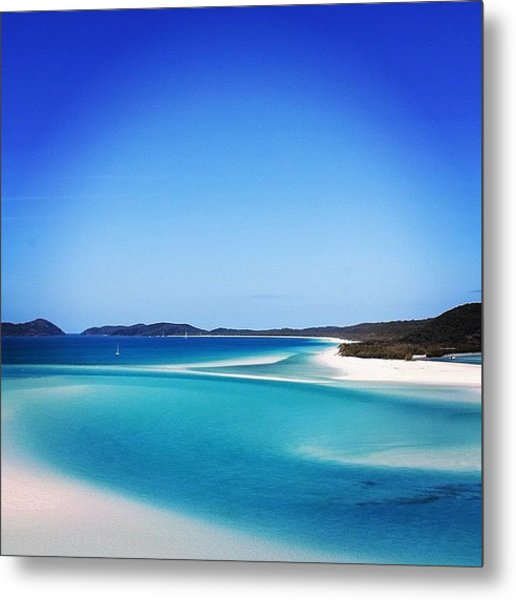 The Hill Inlet 👌 Metal Print