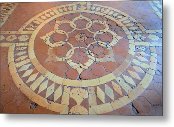 The History Beneath Your Feet Metal Print by