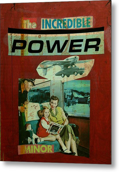 The Incredible Power Minor Metal Print by Adam Kissel