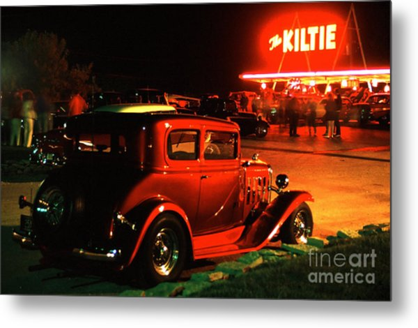 The Kiltie Metal Print