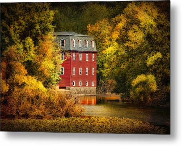 The Kingston Mill Metal Print