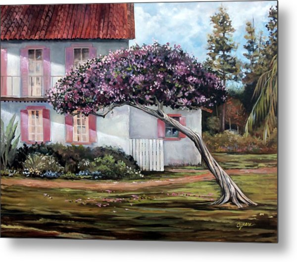 The Kite Tree Metal Print